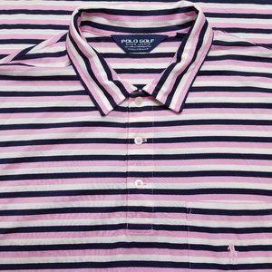 Polo Golf Ralph Lauren - Polo Shirt - Striped Pink